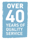 Over 40 years of Quality Service