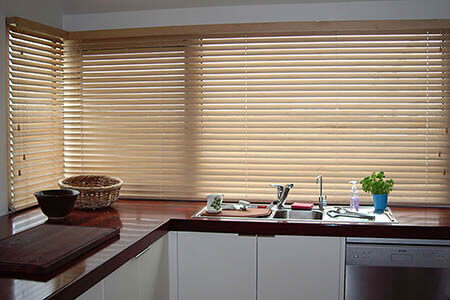 h 450x300 Timber Venetians Kitchen